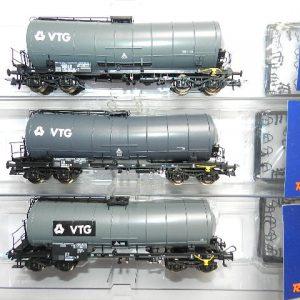 Roco 76126 – 3-tlg. Set: Knickkesselwagen, VTG , DB AG