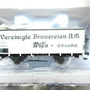 Brawa 49737 BBÖ gedeckter Güterwagen Vereinigte Brauereien AG Wien Ep. II