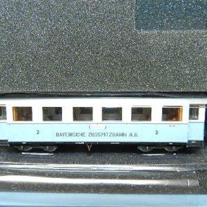 Hobbytrain 1 Wagen Bayrische Zugspitzbahn H0m aus H 43101