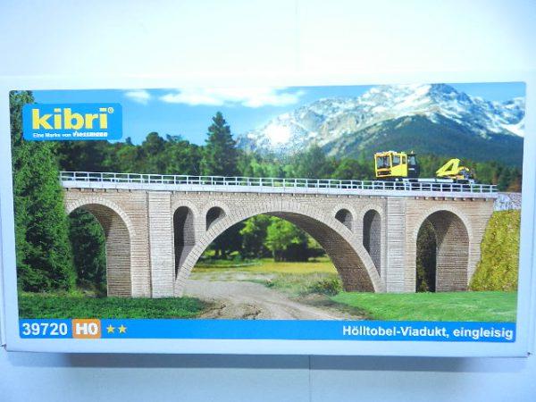 Kibri 39720 H0 Hoelltobel-Viadukt eingl.