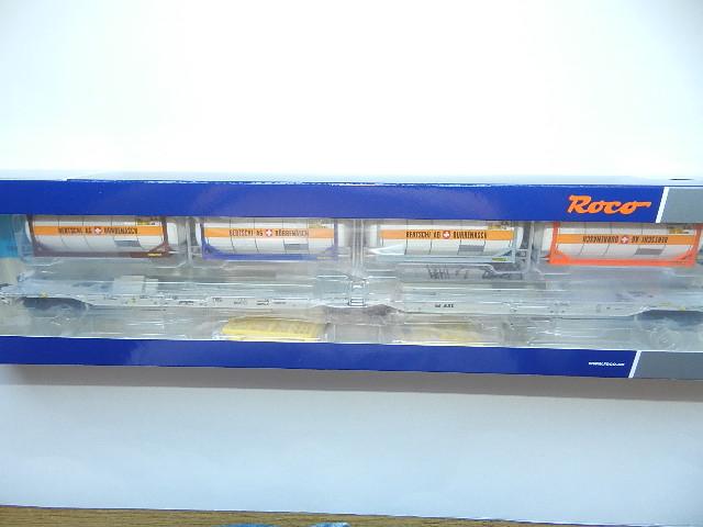 AAE neu OVP Roco H0 76438 Doppeltaschen-Gelenkwagen