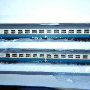 """ACME  2-tlg. DB Wagenset """"Metropolitano"""" von Milano Centrale nach Frankfurt Hbf  aus 55182"""