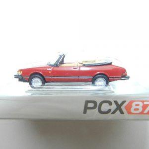 Brekina PCX 870127 Saab 900 Cabrio rot